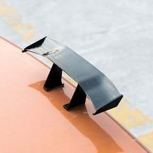 6,7 дюймов карбоновый дешевый спойлер Универсальный Автомобильный хвост крыло Мини авто волокно украшение ABS/пластик Материал углеродного волокна шаблон