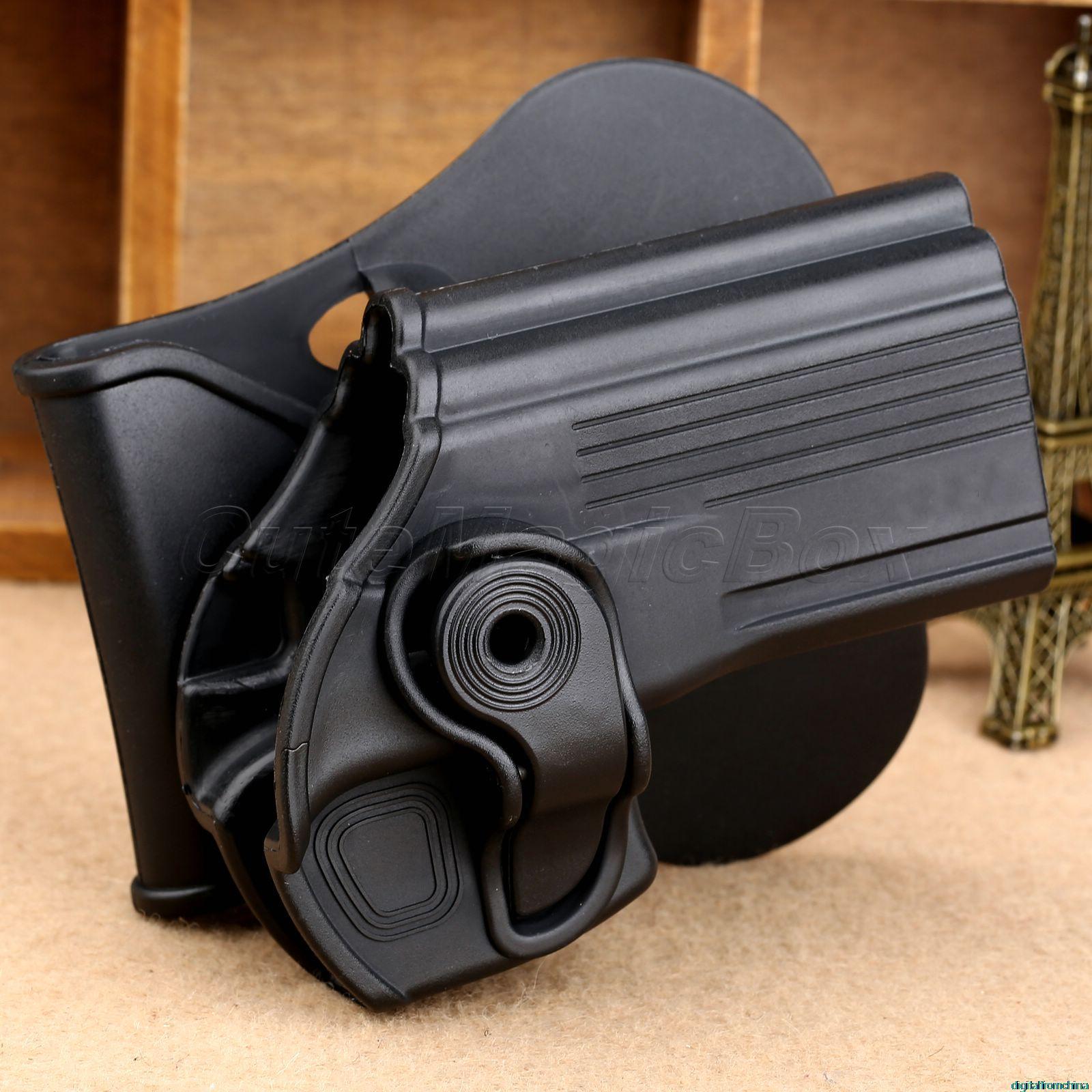 Цена за Черный Тактический Правша Кобуры Пистолет Кобура Чехол для Тельца 24/7 Телец 24/7 OSS Пистолет Бесплатная Доставка