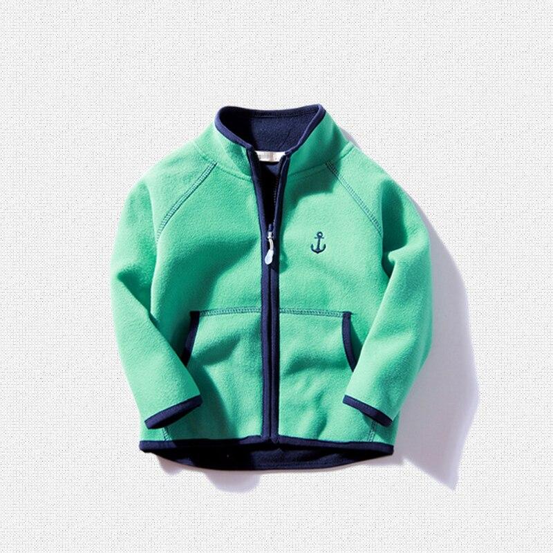 New 2017 children polar fleece cardigan sweatshirt children hoodies kids jacket and Coats baby boys girls Coral velvet sweatshir