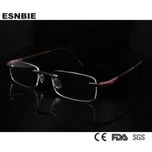 Free Shipping Rimless Glass Titanium Eyewear & Accessories Myopia Glasses New Arrivals