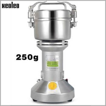 XEOLEO Electric Grain grinder Grain Grind machine Grinder Mill Stainless steel 250g Grinding Spices/Herbs/Bean machine22000r/min
