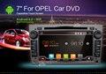Новый универсальный Автомобиль Радио Двухместный 2 din Dvd-плеер Автомобиля GPS Навигации для OPEL ASTRA/VECTRA/ZAFIRA В тире ПК Автомобиля Стерео видео