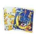 Libro de álbum de pokemon con capacidad para 324 tarjetas, fotos, sellos, lista de colecciones 2 tipos de fundas de dibujos animados en oferta
