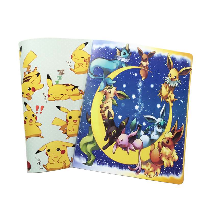 pokemon Album Book Accommodating 324 Cards, Photos, Stamps, Collection List 2 Kinds of Cartoon Cover Hot Sale
