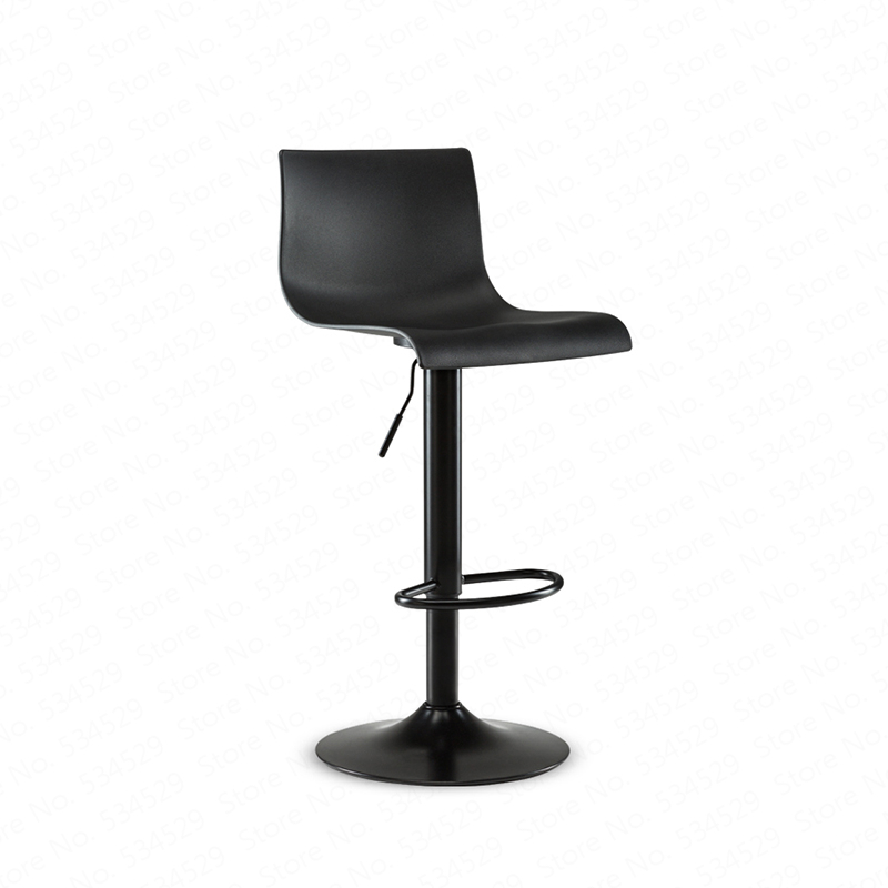 B Home Bar Chair Simple High Dining Stool Bar Chair Rotating Lift Bar Stool High Stool Back Bar Chair