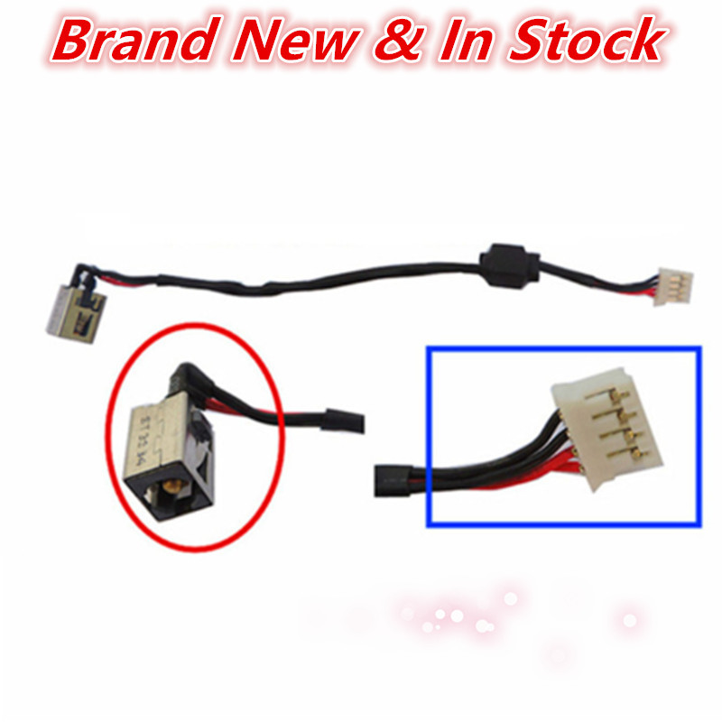 US $2.9  Laptop DC Jack Power Cable Connector Port Plug Wire Harness Jacks And Connectors Wiring Harness on