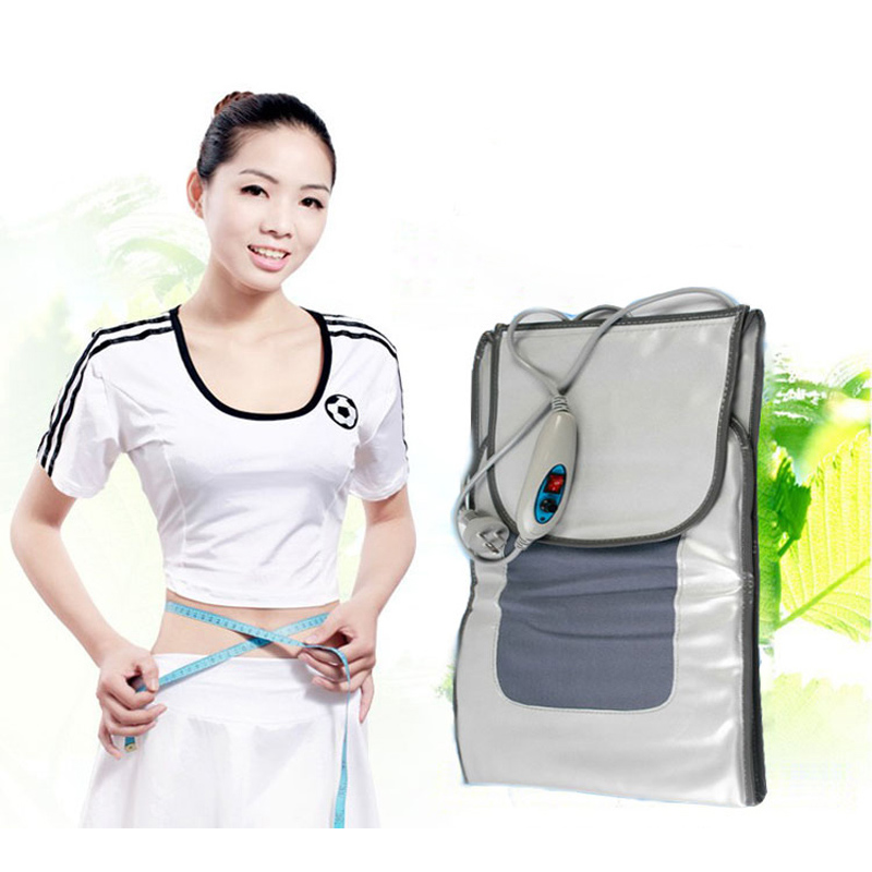 Far infrared Fat burning weight loss belt Body Shaper Belly Leg Massage Lose Weight Belt Woman Lazy Diet Sauna Slimming Waist купить