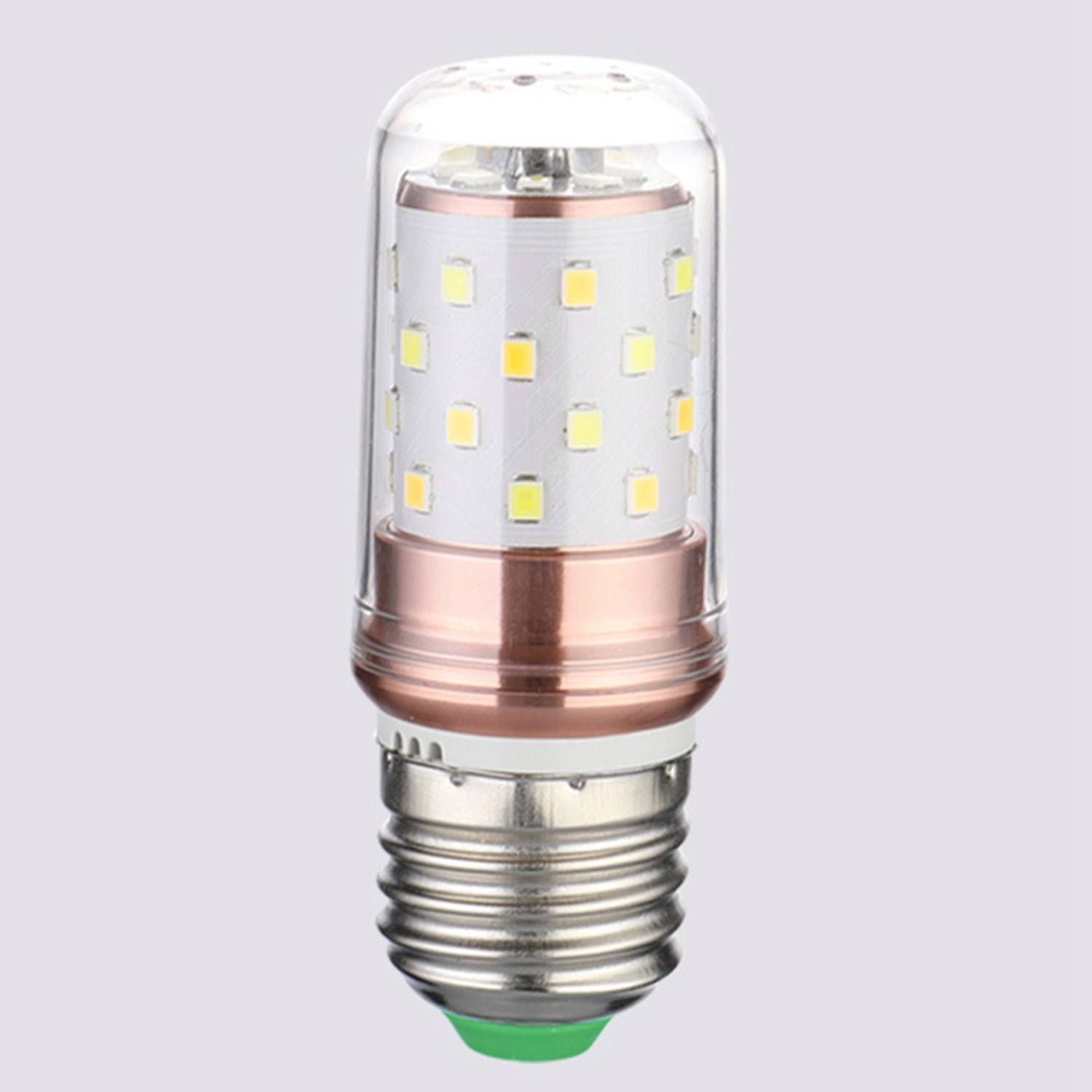 3 Color Temperatures Integrated SMD LED Corn Lamp AC110V-220V Warm White High Light Energy Conservation Small LED Light Bulb