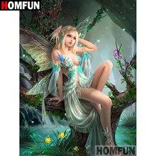 Homfunアート5D diyのダイヤモンド塗装