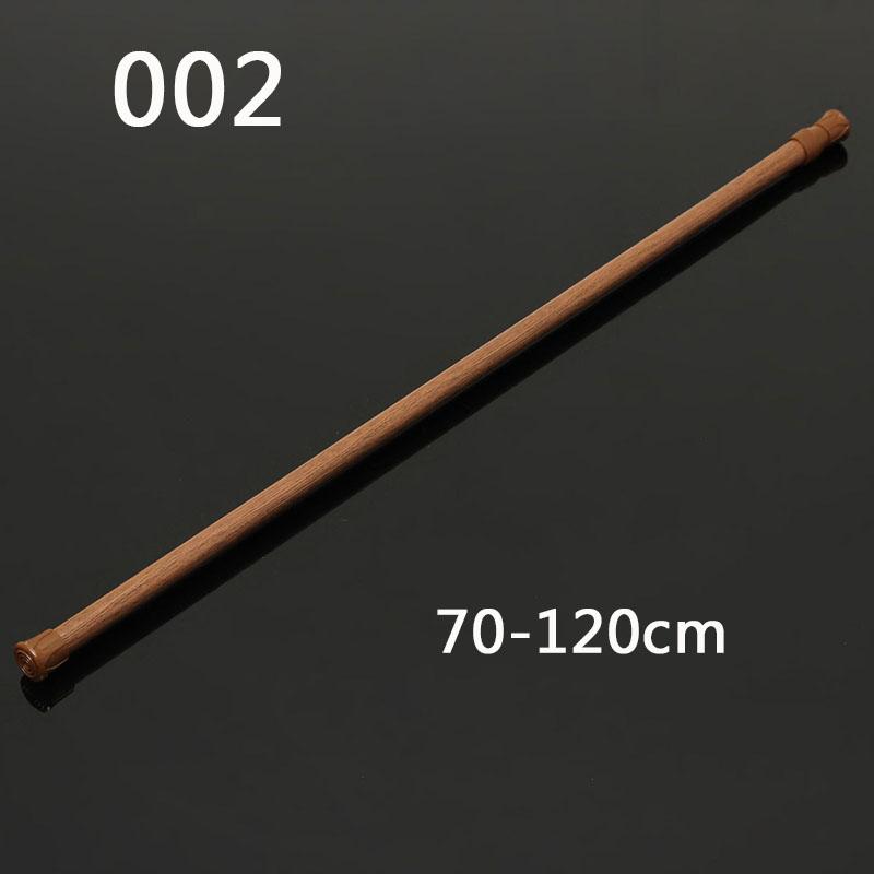 70-120cm Extendable Telescopic Shower Curtain Rail Rod