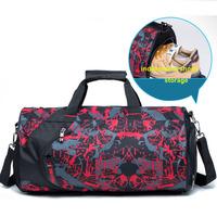 Outdoor Sports Bag Fitness Professional Yoga Shoulder Gym Bags With Independent Shoes Storage Handbag Tote Training