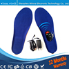 NEW Winter Warm Insole Heated Battery Heating Insoles With Wireless For Men And Women Keep Foot