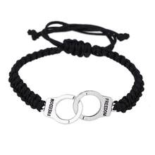 2017 Hot High Quality Unisex Handcuffs Bracelets Punk Rock Bracelet Menottes Alloy For Men Wowen Gifts For Friends(China)