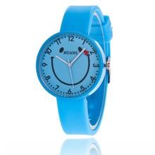 Kids Watches Fashion Students Children Watch Girls Silicone Wrist Clock Child Hours Quartz Wristwatch For Girl Gift цена 2017