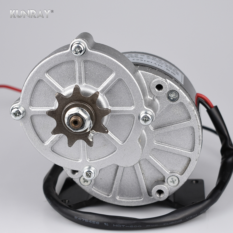Electric Bicycle Motor 24V 250W E-bike Brushed Motor 250W Electric Bike Kit Electric Bike Conversion Kit Light E.V E-bike Motors 24v dc 250w electric scooter motor conversion kit my1016 250w brushed motor set for electric bike emoto skatebord bicycle kit