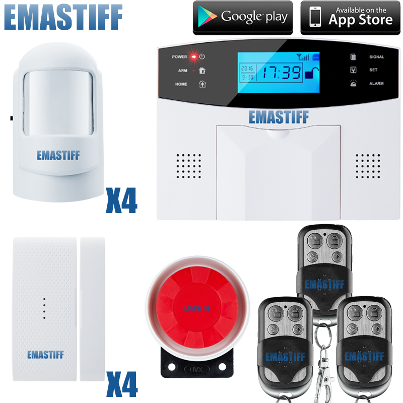 Wireless GSM Alarm System For Home Wireless Security Alarm System with Door Sensor Home Alarm Systems Security built-in Antenna interference cancellation methods in mimo ofdm systems