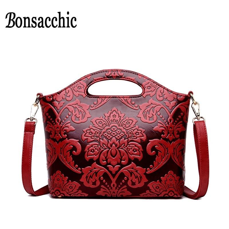 62f4ccc5da3 Red Women Shoulder Bags Small Ladies Handbag Luxury Handbags Women Bags  Designer Embroidery Crossbody Bag for