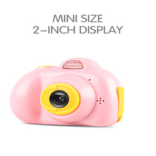 Buy Mini Kids Camera Multi-language Function Puzzle Game Life Record Electronic Camera Educational Toy Children's Birthday Gif directly from merchant!