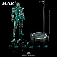 1/9 Scale Alloy Diecast DFS054 Iron Man MK31 Mark XXXI Piston Action Figure for Collection Gift