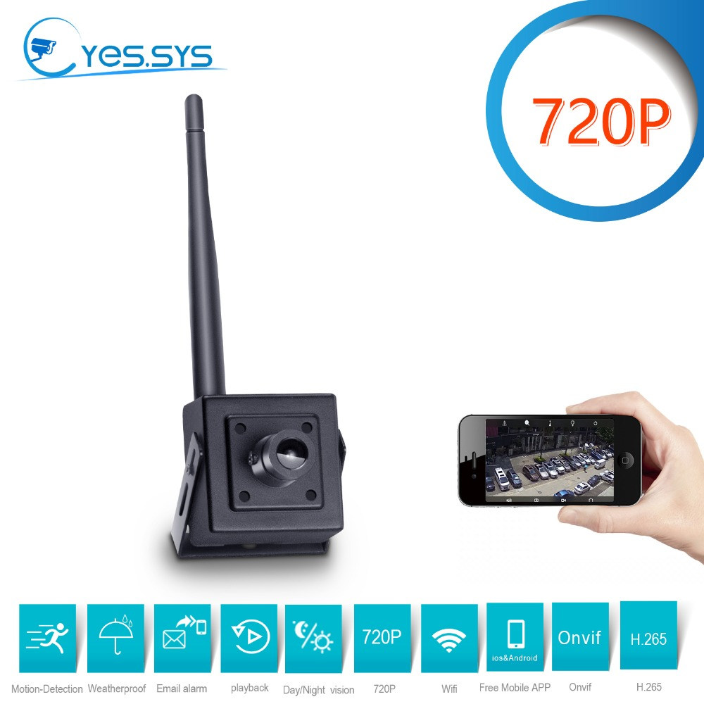 eyessys 2018 Mini Portable Wireless WiFi 720p Net P2P IP