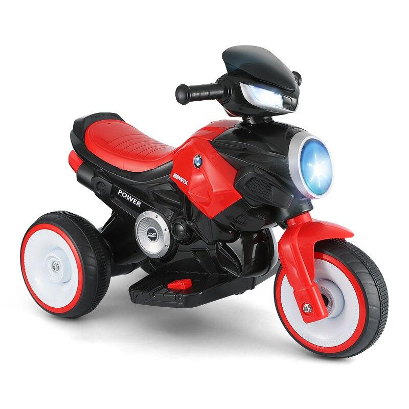 2019 nouveaux enfants moto électrique tour sur les voitures jouet voiture peut s'asseoir sur bébé batterie moto vélo pour enfants cadeau