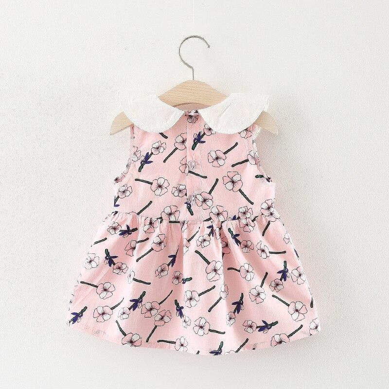 Лето 2018 платье для девочек без рукавов Барвинок младенцу серия han платье принцессы лидер партии Детская одежда