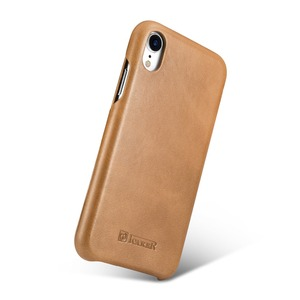 Image 2 - ICARER Luxury Vintage Genuine Leather Case For iPhone XR High Quality Handmade Flip Cover For iPhone XR Retro Leather Case