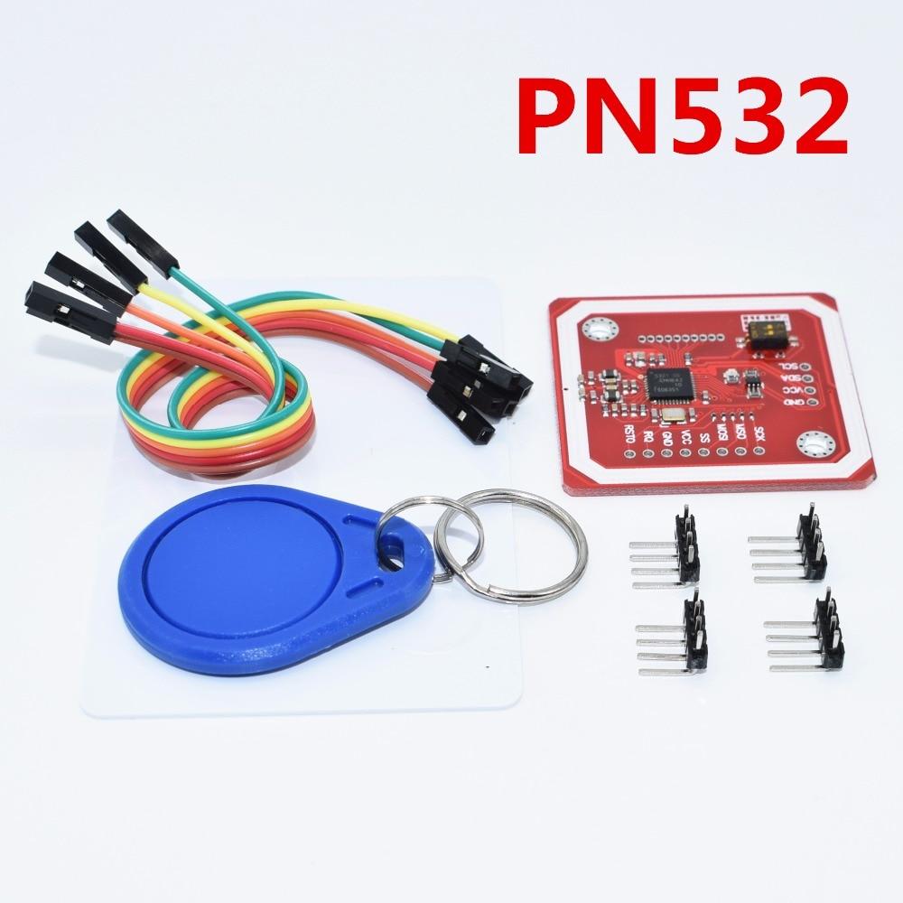 10Set lot PN532 NFC RFID Wireless Module V3 User Kits Reader Writer Mode IC S50 Card