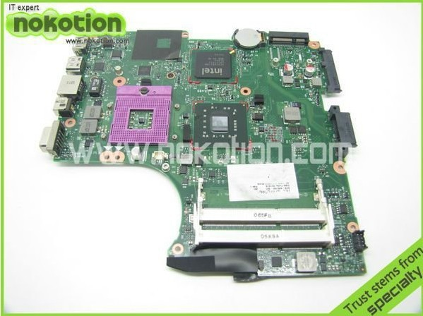 NOKOTION 605748-001 605747-001 Laptop motherboard For Hp Compaq CQ320 CQ321 CQ325 CQ326 Intel gl40 ddr2 Mainboard full tested nokotion 646669 001 laptop motherboard for hp 630 631 635 intel ddr3 mainboard full tested