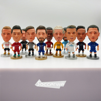 Soccerwe Europe Super Famous Soccer Star Player Lovely Action Figure Football Model Toys Doll Messi Ronaldo Neymar Pogba Buffon muñeco buffon
