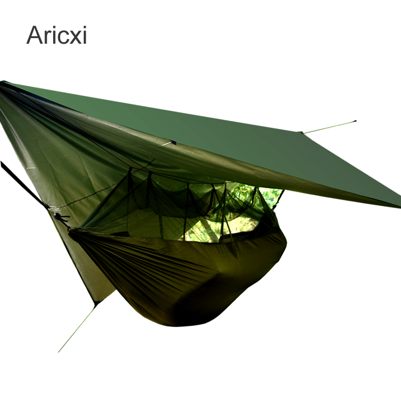 ARICXI Military tree tent Hammock Tent With Anti Mosquito Net Mesh Portable tent For Outdoor Camping
