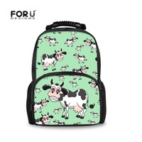 FORUDESIGNS Fashion Lightweight Travel Backpack Animal Printing Massage Shoulder Straps Stylish Bags for Girls school Rucksack
