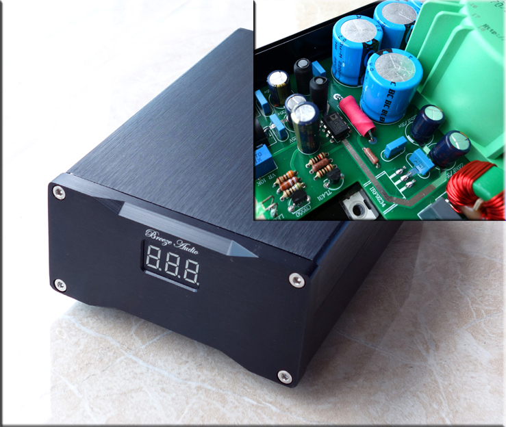 AURALiC Aries Mini DC Linear Power Supply 12v 15v 16v Two sets of voltage outputs XMOS DAC Headphone Amplifier Digital Dial Powe new linear power supply for auralic aries mini linear power supply 16v 1a