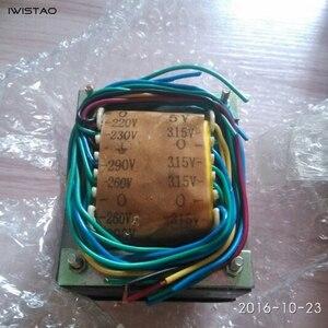 Image 3 - IWISTAO 175W tüp amplifikatör güç trafosu 300VX2 5V çift 3.15VX2 silikon çelik levha oksijensiz bakır tel HIFI ses DIY