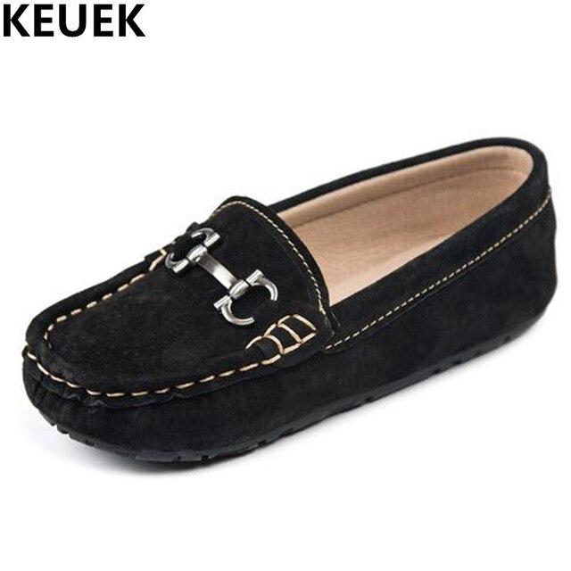 Zapatos niños y niñas estilo estudiante.