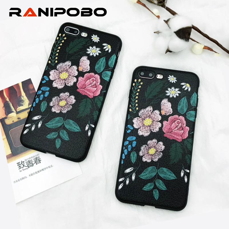 Роскошные Винтаж розы телефон чехол для iPhone X 7 7 Plus 6 6 S плюс 8 8 плюс рельеф окрашенные мягкая ТПУ Защита задняя крышка