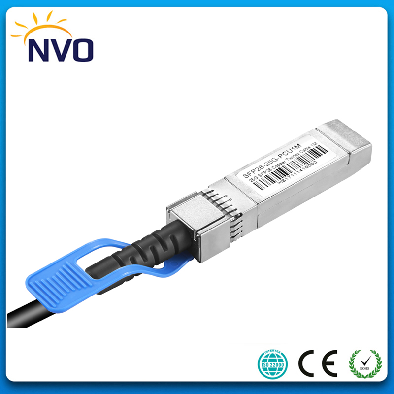 25G SFP28 to SFP28 3M (9ft) 30AWG DAC Passive Direct Copper Cable,25G SFP28,Passive Direct Attach Copper Twinax Cable