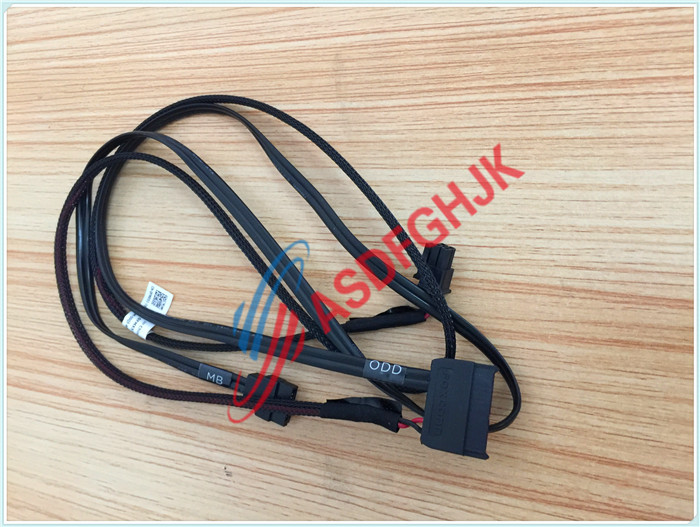 Original stock FOR Dell FOR  POWEREDGE R730 3.5 IN LFF OPTICAL SATA DATA AND POWER CABLE FMX51 0FMX51 100% work perfectly wholesale hard drive inch large form factor lff 8 bay for dell poweredge r530 kkfn7 0kkfn7 cn 0kkfn7 100