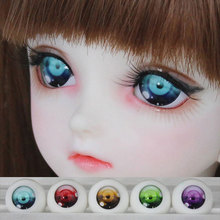 1 Pair BJD Safety Eyes Acrylic Toy Eyes for Dolls 1 3 1 4 1 6