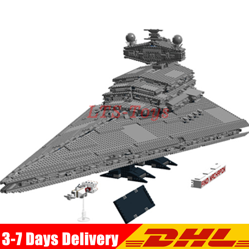 LEPIN 05027 3250pcs Star Fighters Starship destroyer Building Blocks Bricks wars Assemble Compatible legoINGlys 10030 2017 hot 05027 3250pcs star fighters starship model building kit blocks bricks assembling toy compatible with 10030 wars