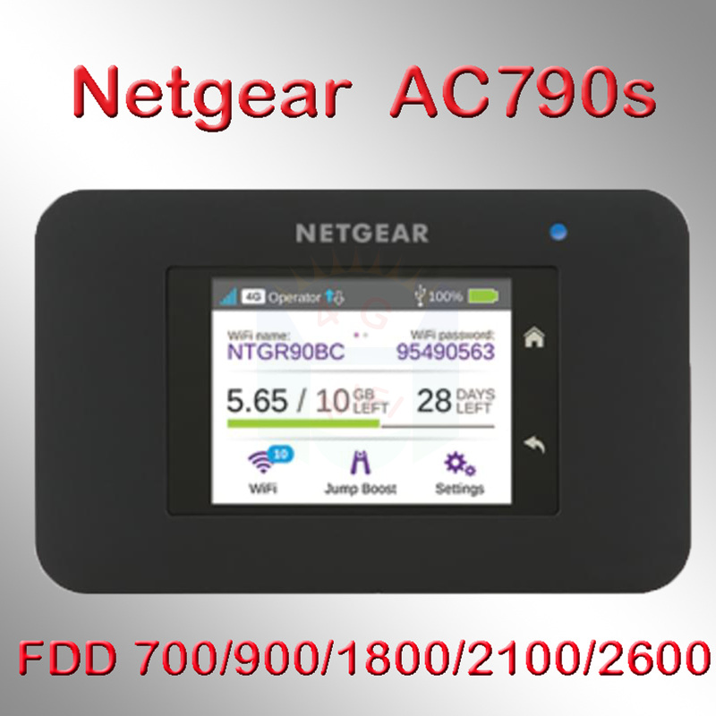 Unlocked Netger AC790S Cat6 300mbps 4g Wifi Router Dongle Wireless Aircard 790S 4G LTE Mobile Hotspot