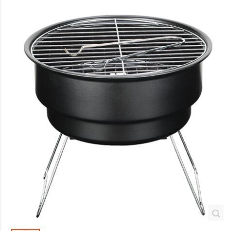 Acier inoxydable extérieur sablier cuple barbecue brasero charbon portable babecue grukk avec sacs à bandoulière refroidisseur