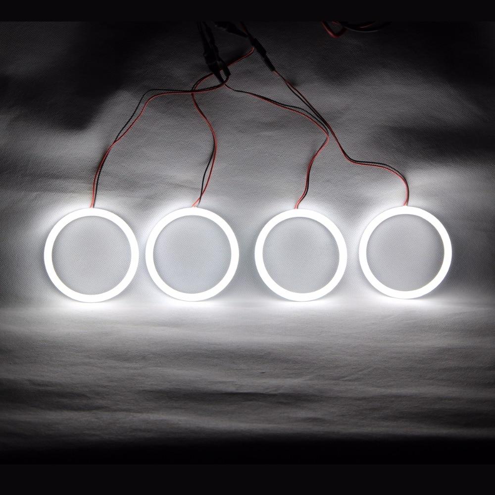 Angel Eyes Cotton LED Light Headlights Running Light DRL Turn Light For BMW E30 E32 E34 E92 E46 Cabrio E46 Coupe 2D (2004+)