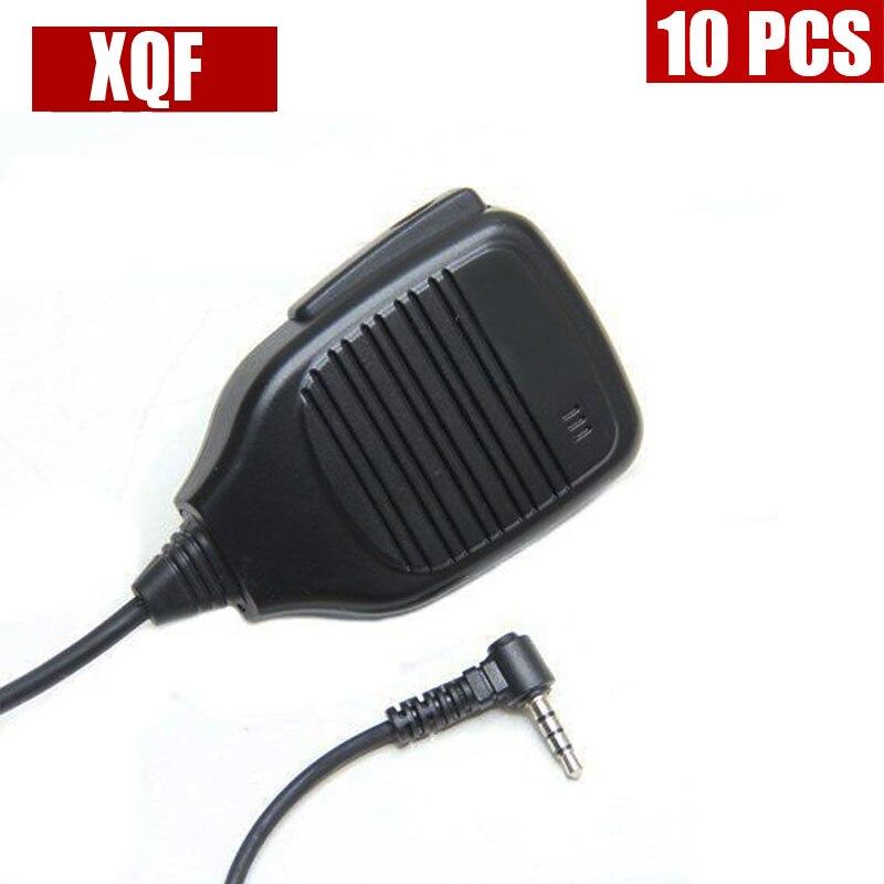 XQF 10PCS  Generic Speaker Microphone For Yaesu Vertex Radio VX-160 VX-351 VX-3R FT-60R