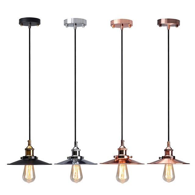Lamp Cover Vintage Antique Ceiling Metal Edison Pendant Ceiling ...