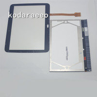 Kodaraeeo For Samsung Galaxy Tab 2 10 1 GT P5100 P5100 Touch Screen Digitizer LCD Display