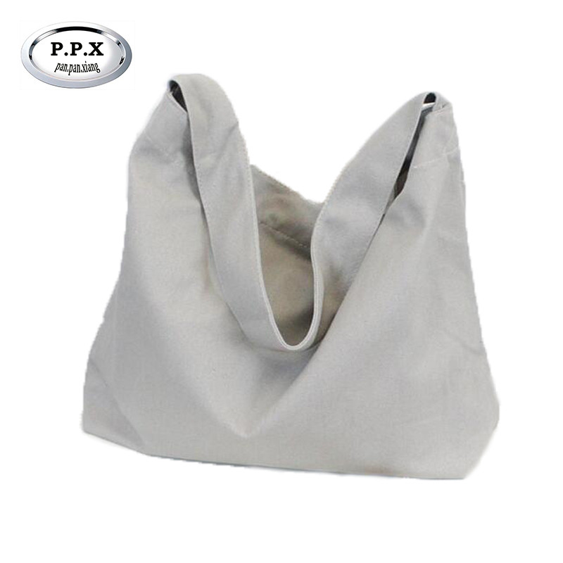 P.P.X Wear-resisting Canvas Shopper Bag Casual Women's Shoulder Bag Japan And Korean Style Handbag Joker Messenger Bags M553 sa212 saddle bag motorcycle side bag helmet bag free shippingkorea japan e ems