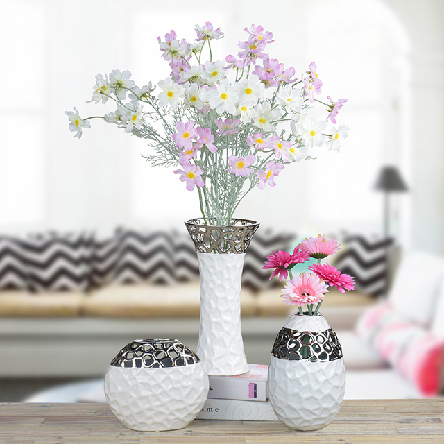 Aliexpress Buy Water Cube Flower Vase Porcelain Creative