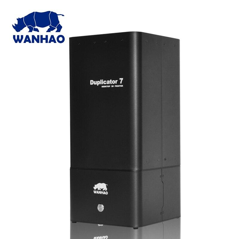 Duplicator 7 V1.2 - V1.3 - V1.4 (Red Edition)  WANHAO Version UV resin DLP SLA 3D printer D7 high quality wanhao steel frame desktop digital 3d printer duplicator i3 v2 1