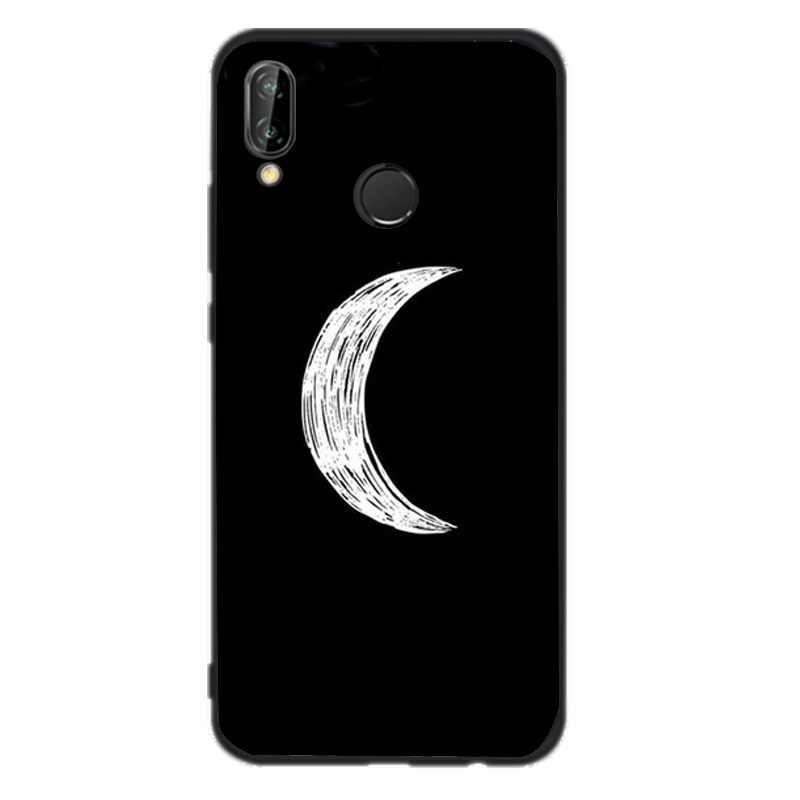 יד ביד מקרה עבור Huawei Mate 10 לייט P8 P9 לייט 2017 P חכם 2018 מקרה רך אמנות כיסוי שחור עבור Huawei P10 P20 לייט מקרה